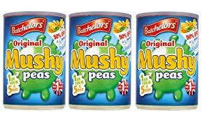 Batchelors Mushy Peas Original Bachelors Mushy Chip Shop Style Peas Imported From The UK England The Best Of British English Mushy Peas Triple Pack