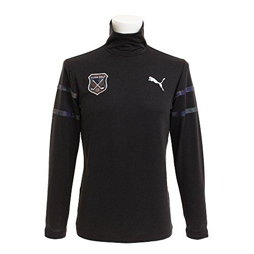 プーマ PUMA 長袖シャツ?ポロシャツ ハイネック長袖シャツ ブラック 01 XL