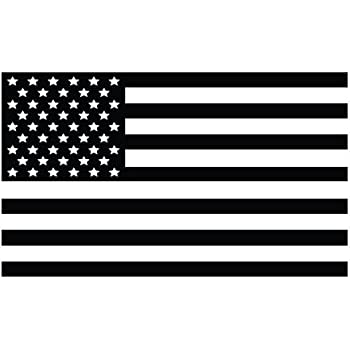 Amazon.com: USA Subdued Single Color American Flag 50 Stars 2 Vinyl ...