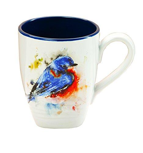 Demdaco B5050122 Bluebird Mug, Multicolored (For Mugs Big Sale)