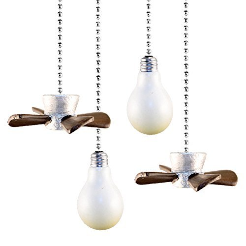 Set of 4 Decorative Fan and Light Pulls by GetSet2Save ()