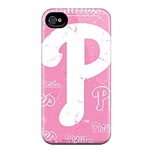 Waterdrop Snap-on Philadelphia Phillies Case For Iphone 4/4s
