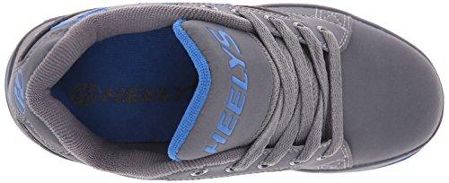 Heelys Propel 2.0 Skate-Schuh (kleines Kind / großes Kind) Grau (Grau / Royal)