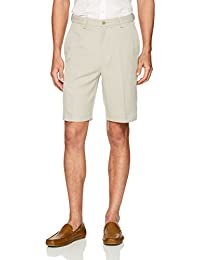 Men's Cool 18 Pro Straight Fit Stretch Solid Flat Front...