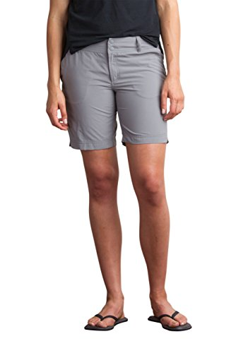 Officio Shorts Hiking Ex (ExOfficio Women's Sol Cool Nomad Shorts, Road, 10)