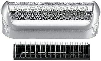 6SHINE Afeitadora de papel, Razor Net Afeitadora de la lámina de protección eléctrica de reemplazo de la cabeza de limpieza para Braun 5S, No nulo, como se muestra en la imagen, 5.2