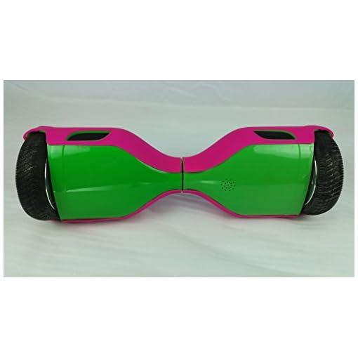 Dragon-five Rose Coque de Protection en Silicone Peau pour Housse en 6,5 Pouces Smart d'équilibre Autoéquilibrage Trottinette électrique Hoverboard Scooter