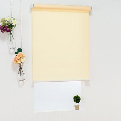 オーダーロールスクリーン(レモン)/ベーシックタイプ/ 様々なテイストのカラーをラインナップ/日本製/高品質【幅150cm 丈120cm】 B07CZ88K6Q 幅150cmx丈120cm