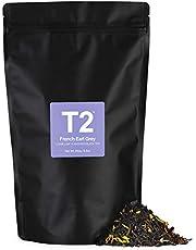 T2 Tea French Earl Grey Loose Leaf Black Tea in Foil Refill Bag, 250g