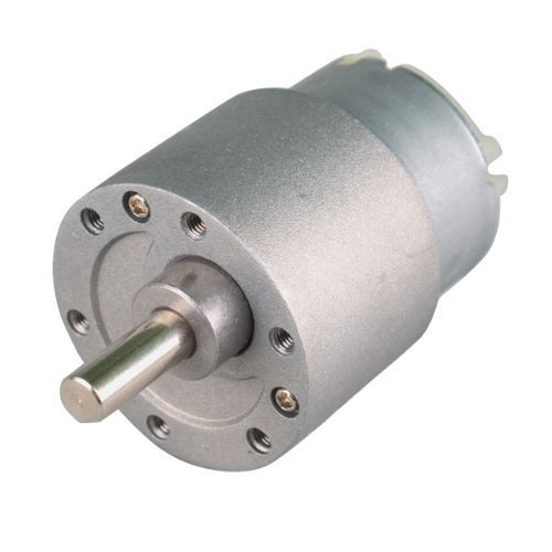 60RPM Mini Gear Box Electric Motor 12V DC 37MM High Torque - 2
