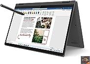 "Lenovo Flex 5 14"" 2-in-1 Laptop, 14.0"" FHD (1920 x 1080) Touch Display, AMD Ryzen 5 4500U Processor,"