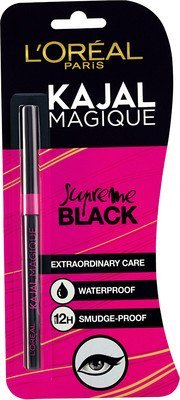 Loreal Paris Kajal Magique 0.35 g(Black) - Pack of 2