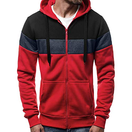 iLXHD Multicolor Hoodies Long Sleeve Coat Pocket -