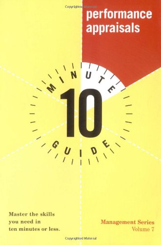 10 Minute Guide to Performance Appraisals