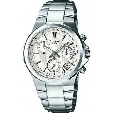 Casio SHE-5019D-7AEF Ladies SHEEN Chronograph Watch