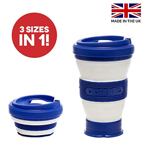Collapsible Coffee Cup Reusable Eco-Friendly - Folding Travel Mug Fits in...