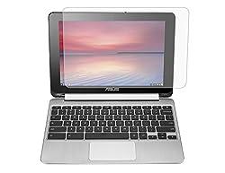 """[2pcs Pack] Asus Chromebook Flip Anti-glare Matte Screen Protector Cover Skin For Asus C100 C100pa C100pa-db02 Chromebook Flip 10.1"""" Convertible 2-in-1 Touchscreen(2piecespack)"""
