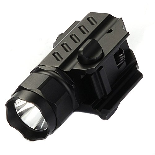 TrustFire G02 LED Tactical stund Gun Flashlight 2-Mode 600LM Pistol Handgun Torch Light