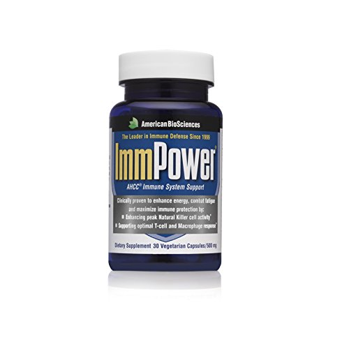 American BioSciences ImmPower AHCC Immune System Support – 30 Vegetarian Capsules (6-Pack) by American Biosciences