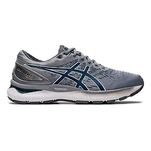 grau clair Blau 45 EU ASICS Herren Gel-Nimbus 22 Knit Leichtathletik-Schuh