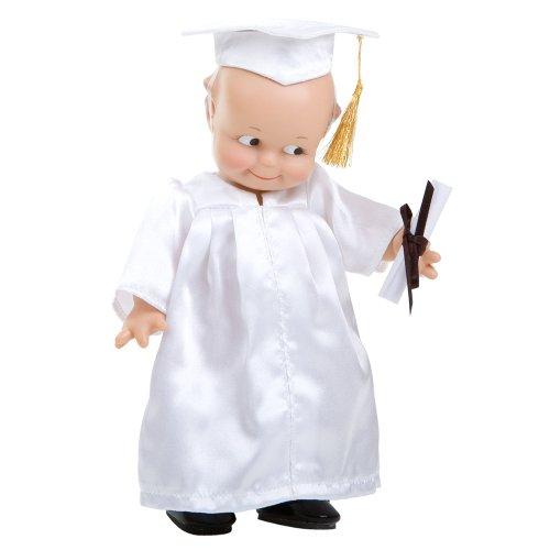 Kewpie Graduation in White ()