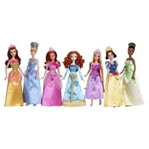Disney Princess Ultimate Doll Collection 2012]()