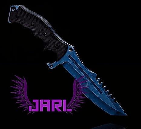 CS Go Knife - Huntsman Blue Steel by Jarl: Amazon.es: Deportes y ...