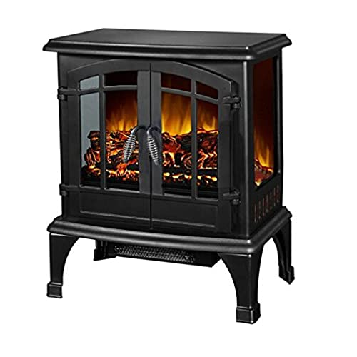 Superbe Argo Furniture Jax Infrared Freestanding Portable Compact Electric Fireplace