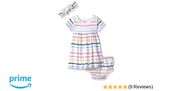 158b500acf84 Amazon.com  Gerber Baby Girls 3-Piece Dress