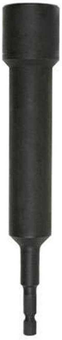 Black Oxide Hitachi 996186 1//4-Inch Hex Drive to 3//4-Inch M19 Non-Magnetic Hex Socket