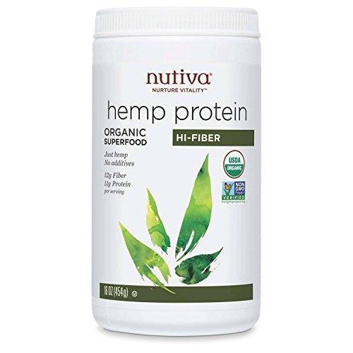 Nutiva Protein Powder Hemp Hi Fiber