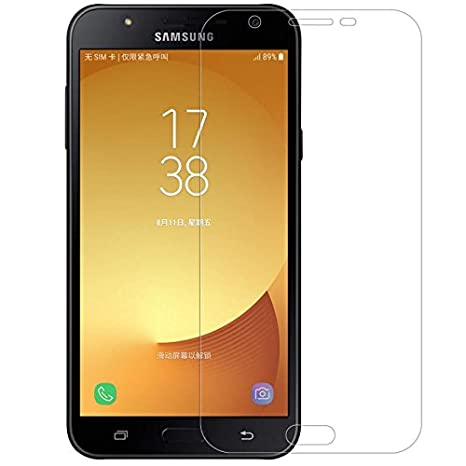 Prime Retail Tempered Glass for Samsung Galaxy J7 NXT