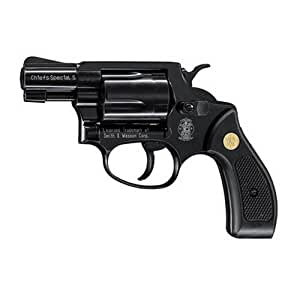 Umarex Blank Firing Pistol, S and W Chiefs Special S 9-mm RK, Black