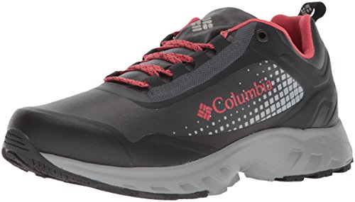 Image of Columbia Women's IRRIGON Trail Outdry XTRM Hiking Shoe, Black, Sunset red, 9 Regular US