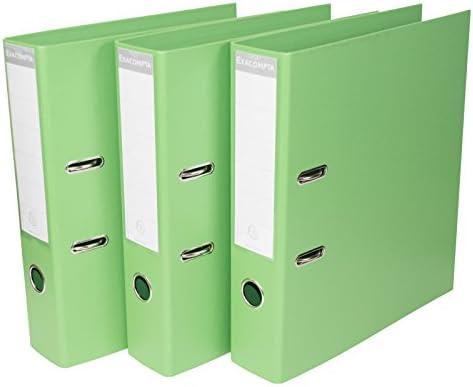 Pack de 3] color verde A4 Archivadores De Palanca 70 mm de ...