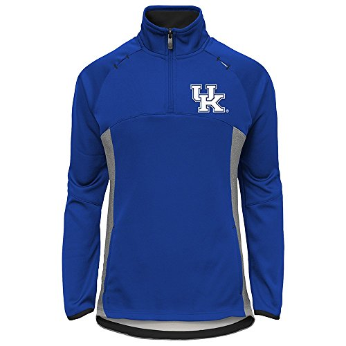 - Outerstuff Kentucky Wildcats NCAA Extreme Team Logo 1/4 Zip Pullover Jacket Girls Youth