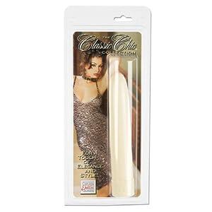 "California Exotics Classic Chic Vibrator, Slimline, 7"""