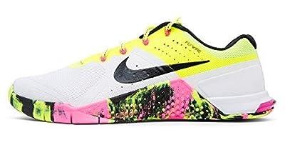 Nike Woman's Metcon 2 Zapatillas de sintético blanco - 10 B (M) US