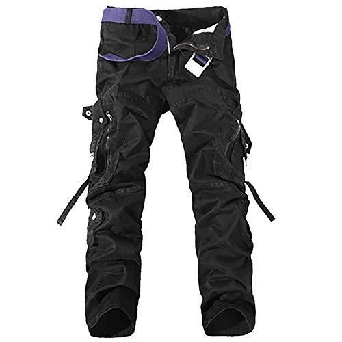 D'escalade Cargo Multiples Fin Travail Avec Crystallly Style Combat Vintage Pour Coton Hommes Poches Décontracté Simple Noir Pantalon De Long vqxq5Sw6T