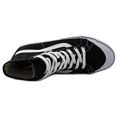 Bestelwagen Heren Zwart Bal Hi Sf Kapitein Fin Enkelhoge Stof Fashion Sneaker Zwart