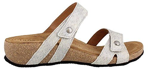 Taos Women's Audition Leather Sandal, Ice Snake, Size - 39