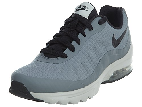 (Nike Mens Air Max Invigor Low Top Lace Up, Cool Grey/Black-Light, Size 9.5)