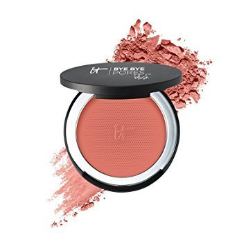 IT Cosmetics Bye Bye Pores Airbrush Brightening Blush: Naturally Pretty NEW!