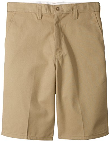 Dickies Occupational Workwear 31 Polyester/ Cotton Relaxed Fit Men's Industrial Flat Front Short with Button Closure, 31'' Waist Size, 11'' Inseam, Desert Sand by Dickies Occupational Workwear