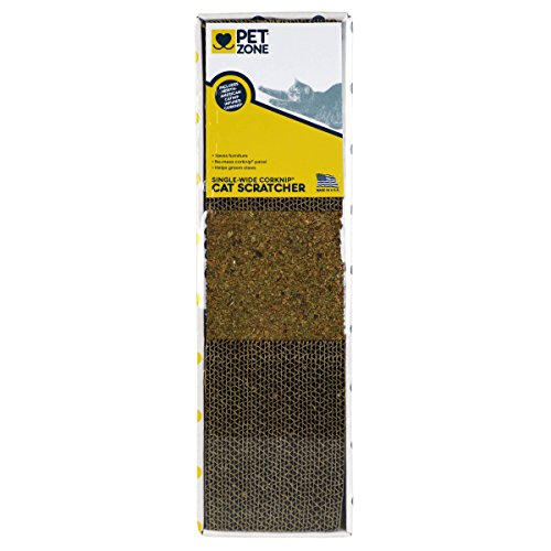 Pet Zone Single-Wide Corknip Cat Scratcher