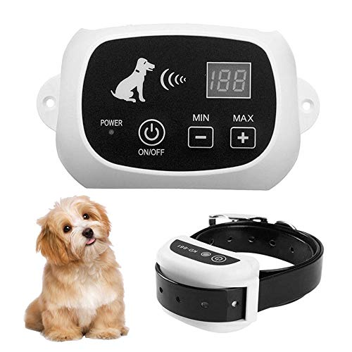 - Focuser Wireless Fence for Dogs, Electric Pet Containment System for Dog and Pets with Waterproof and Rechargeable Training Collar Receiver Boundary
