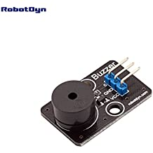 RobotDyn - Buzzer module, for DIY projects compatible for Arduino, Raspberry pi, STM32. For 3.3V/5V.