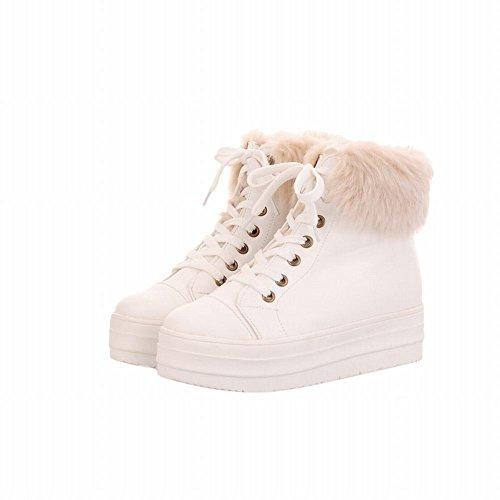 Da Plateau Con Pelliccia Bianca In Carol Donna Dolce Neve Scarpa Sintetica Shoes Zw7EWOq6S