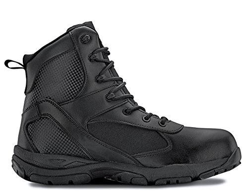 Maelstrom Men's Waterproof Boots For Tactical Law Enforcement Work Security Outdoor | Waterproof Athletic Stylish Comfortable Lightweight Boots | 1 Year Manufacturer's Warranty