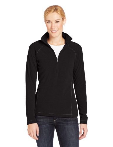 Womens Quarter Zip Fleece - 4